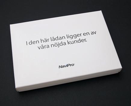 DR-kampanj för NaviPro
