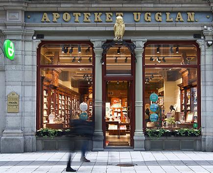 Fotografering av Apoteket Ugglan för MGazzo Arkitektur