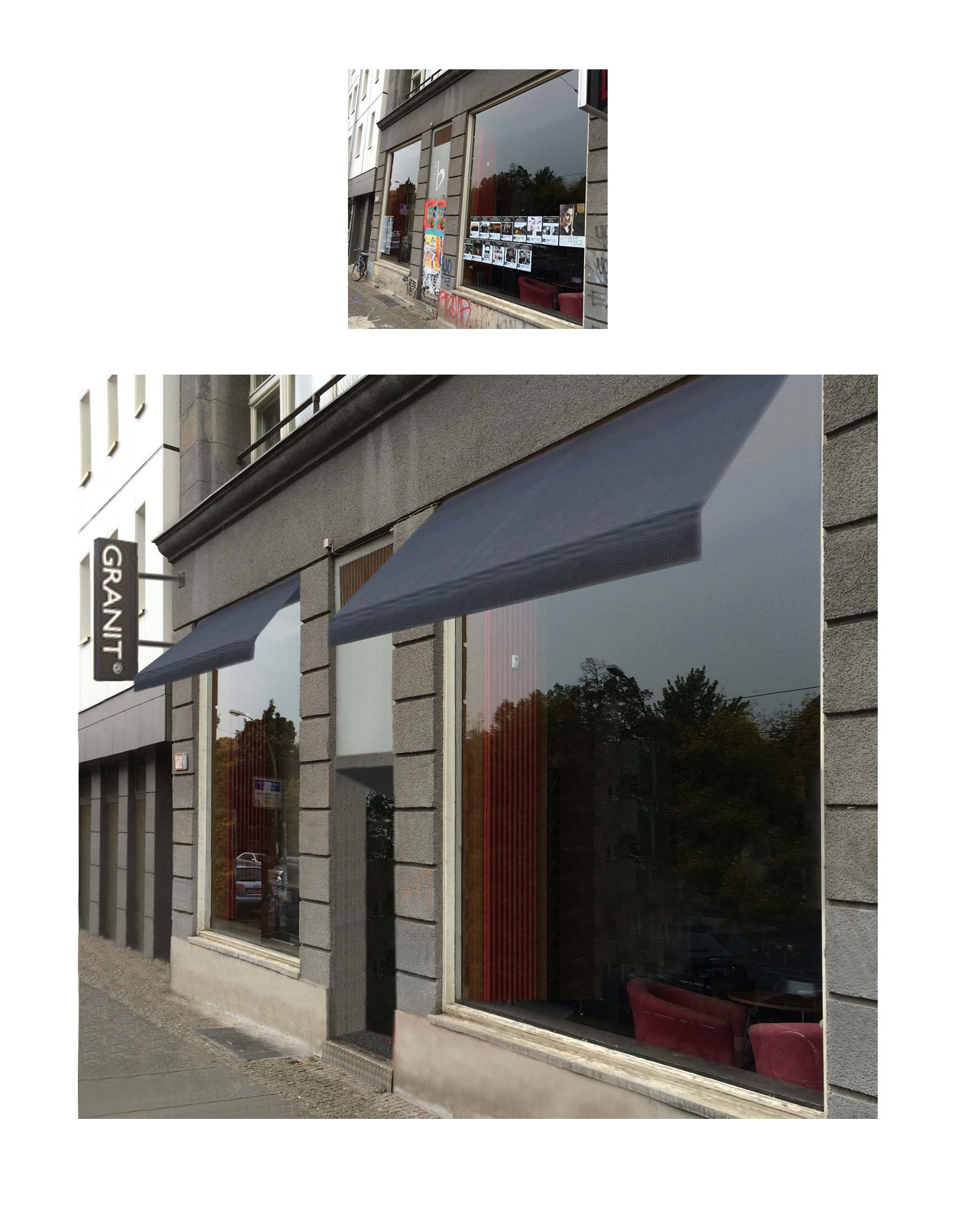 Photoshopjobb, Granit i Berlin för MGazzo Arkitektur