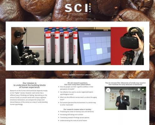 Hemsida för SCI-Lab